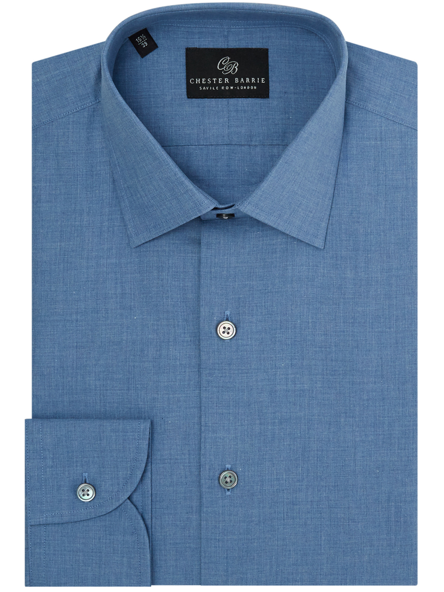 CHESTER BARRIE CHAMBRAY SHIRT