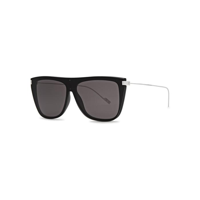 Saint Laurent SL 1 Aviator-style Sunglasses