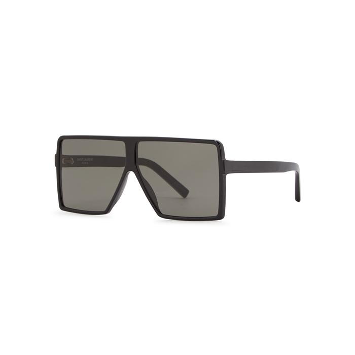 Saint Laurent SL183 Betty Square-frame Sunglasses