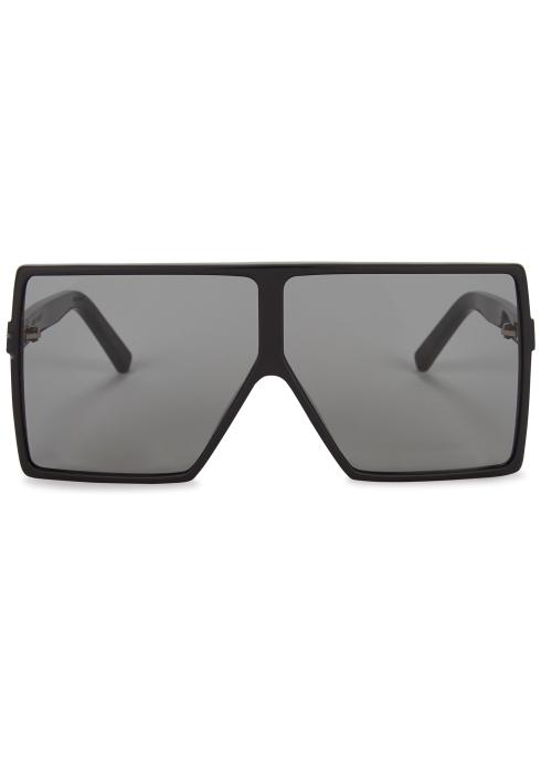 ded47a04e0 Saint Laurent SL183 Betty square-frame sunglasses - Harvey Nichols