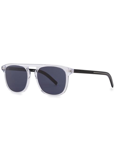 1e675a813ab9 Dior Homme Blacktie 0249S transparent sunglasses - Harvey Nichols