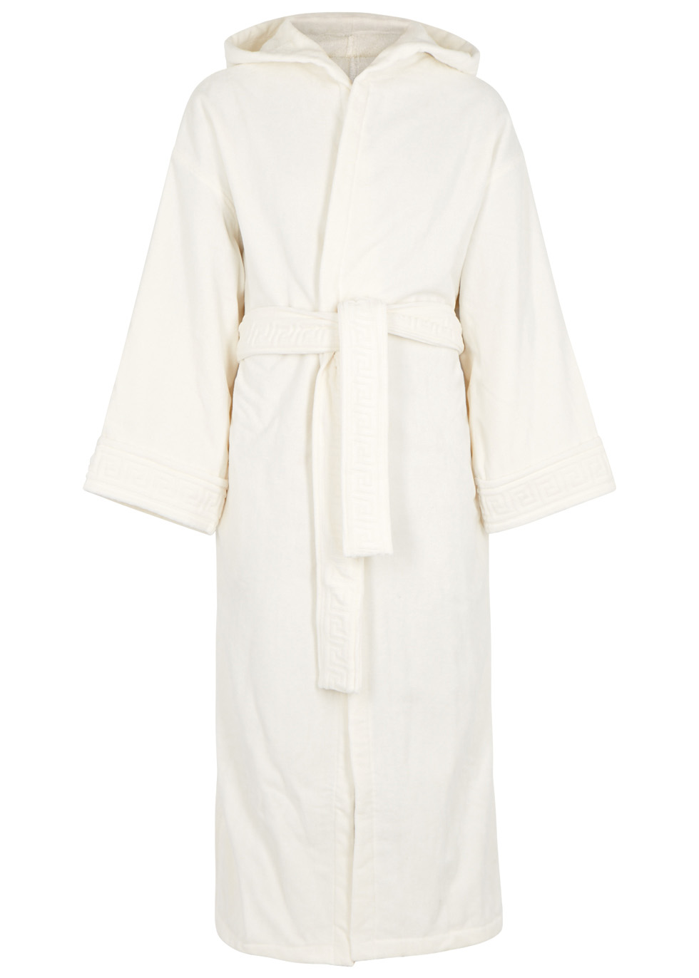 IVORY MEDUSA COTTON ROBE