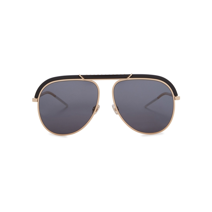 Dior DiorDesertic Aviator-style Sunglasses