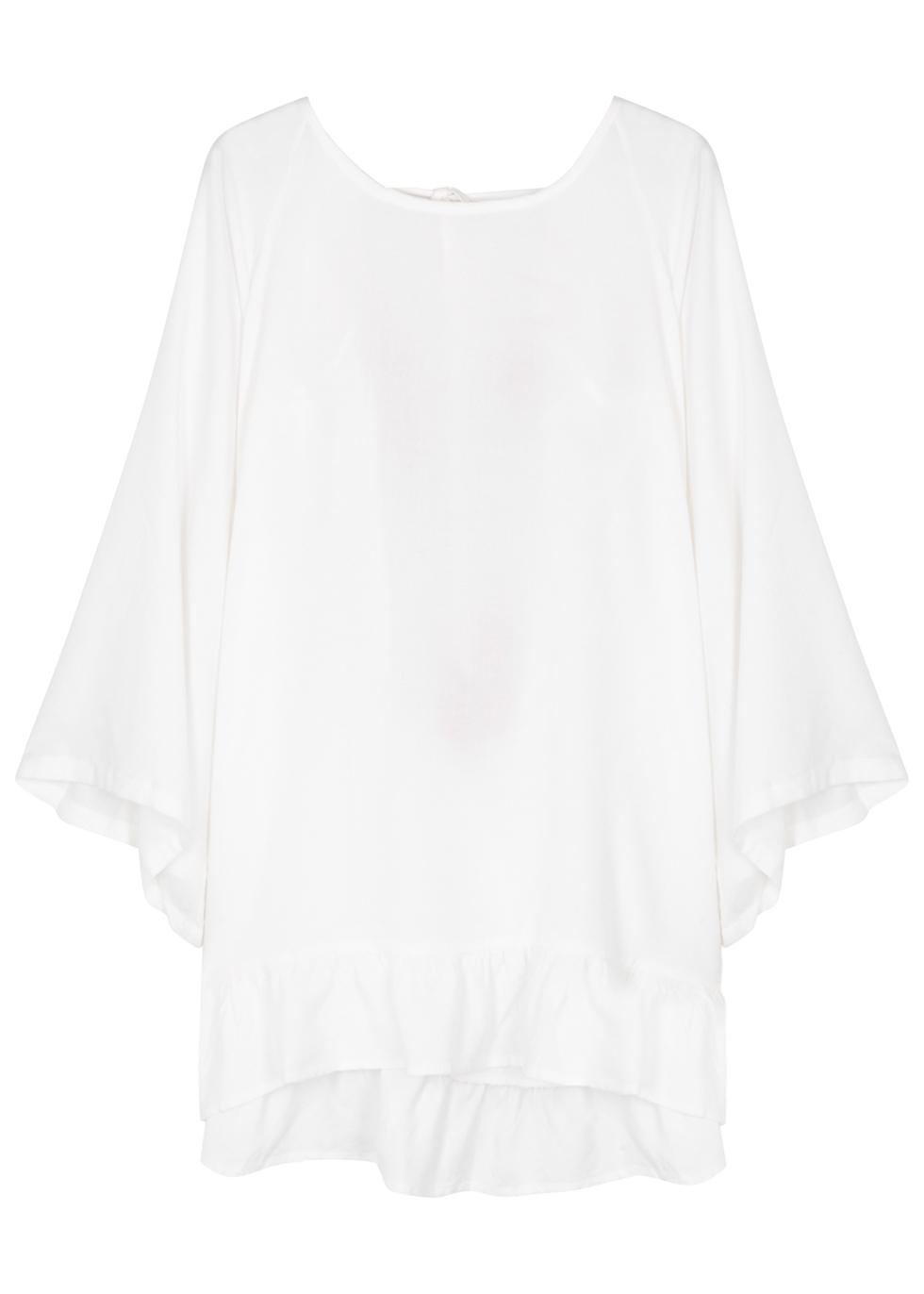 SUNDRESS INDIANA TASSEL-EMBELLISHED MINI DRESS