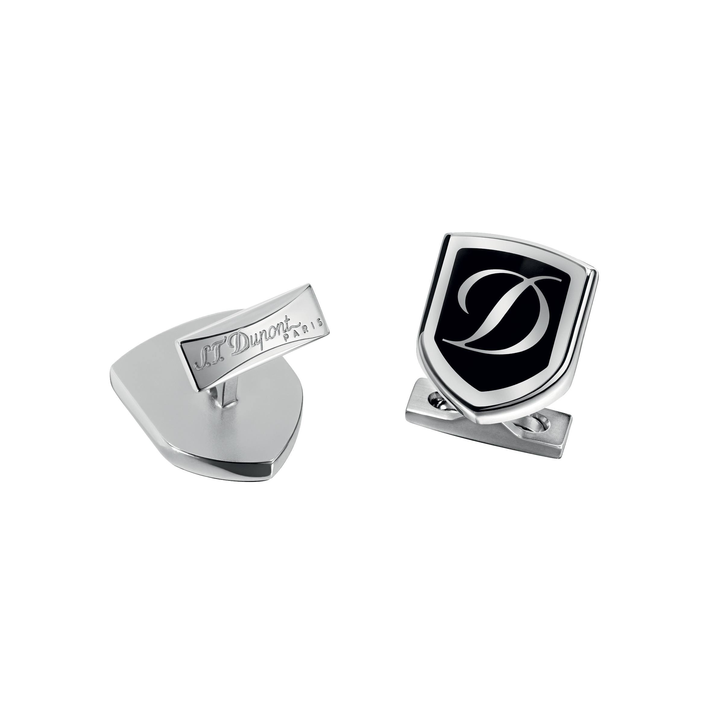 S.T. DUPONT PALLADIUM CUFF LINKS