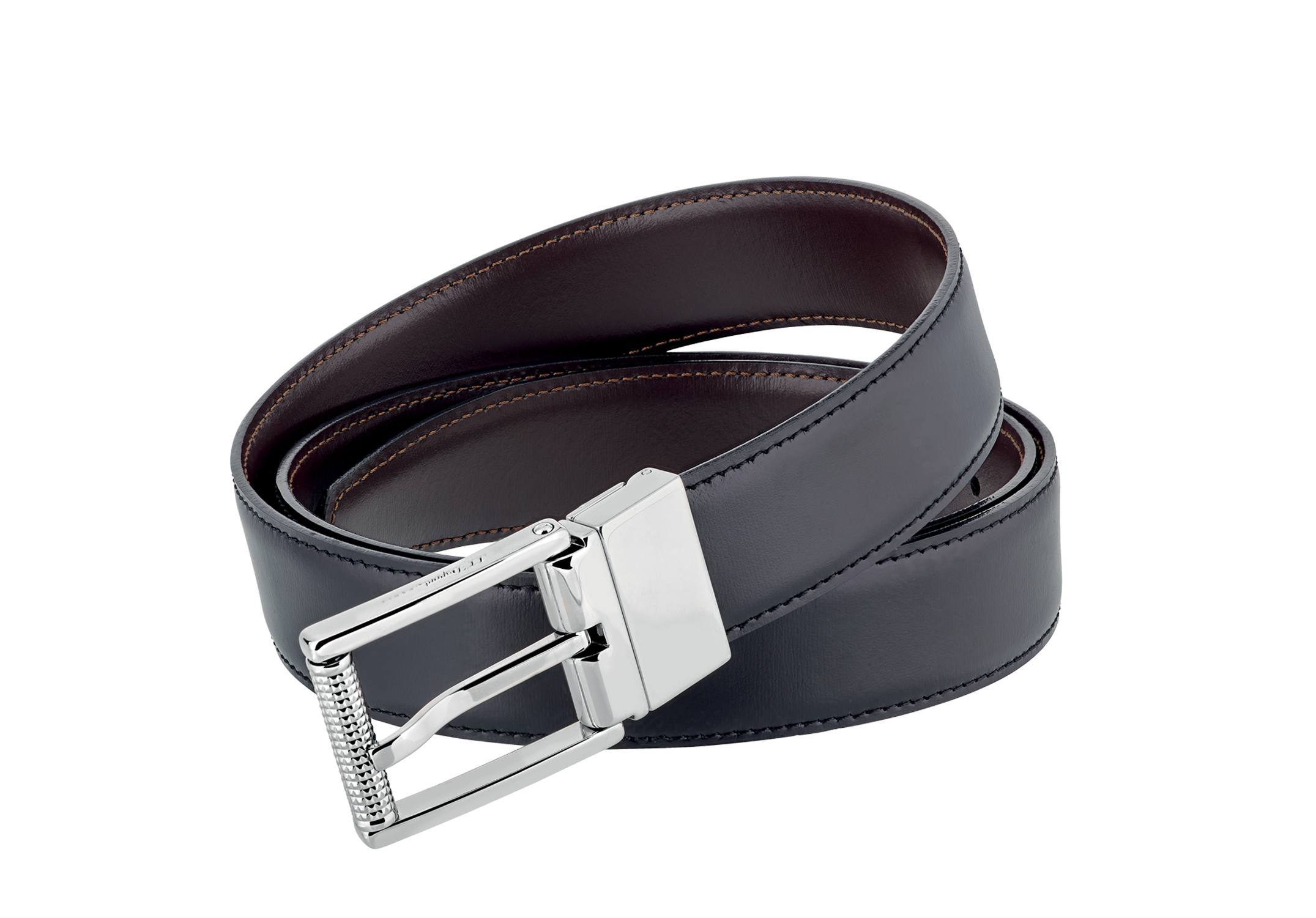 S.T. DUPONT PALLADIUM FINISH BELT