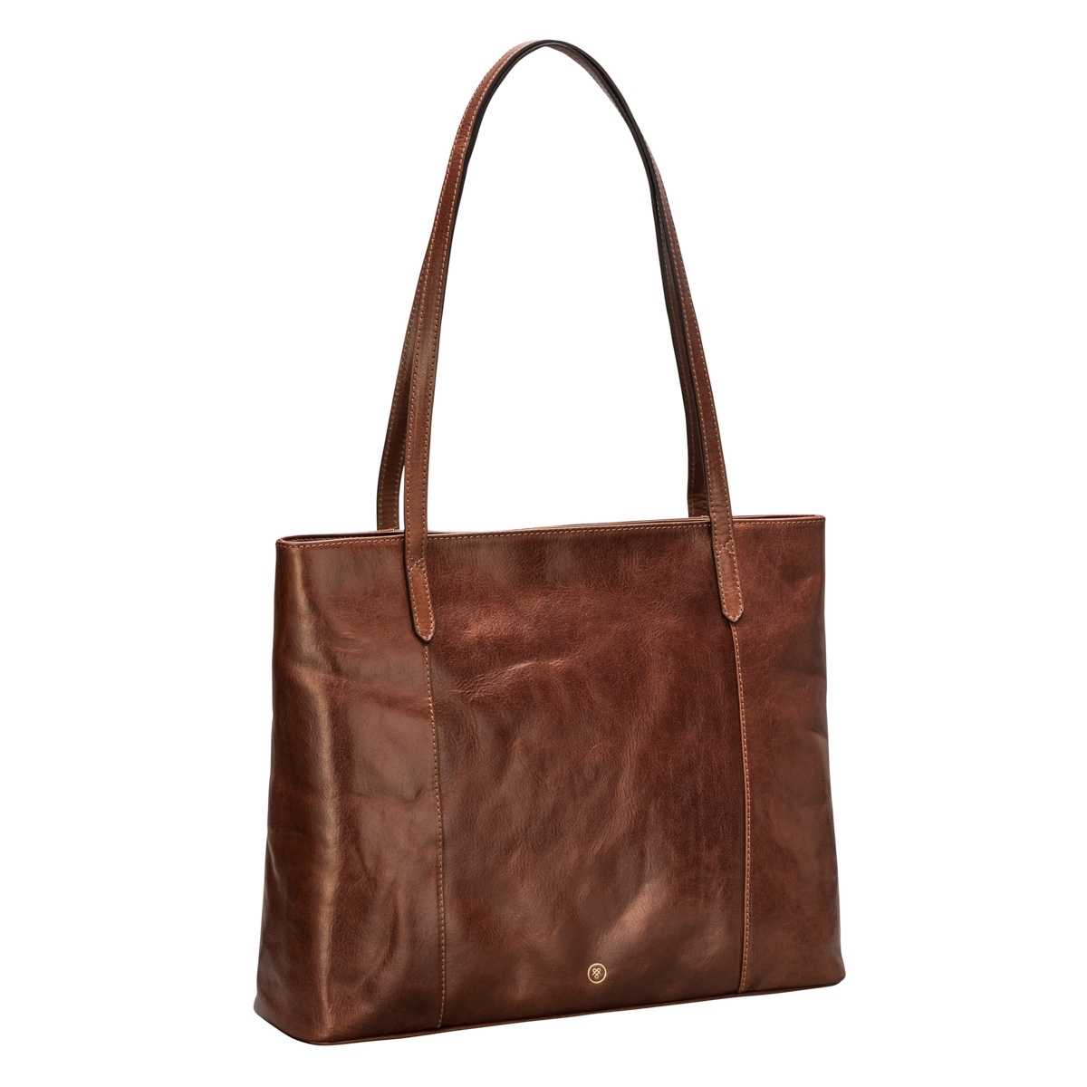 MAXWELL SCOTT BAGS Women S Classic Large Leather Shopper Bag