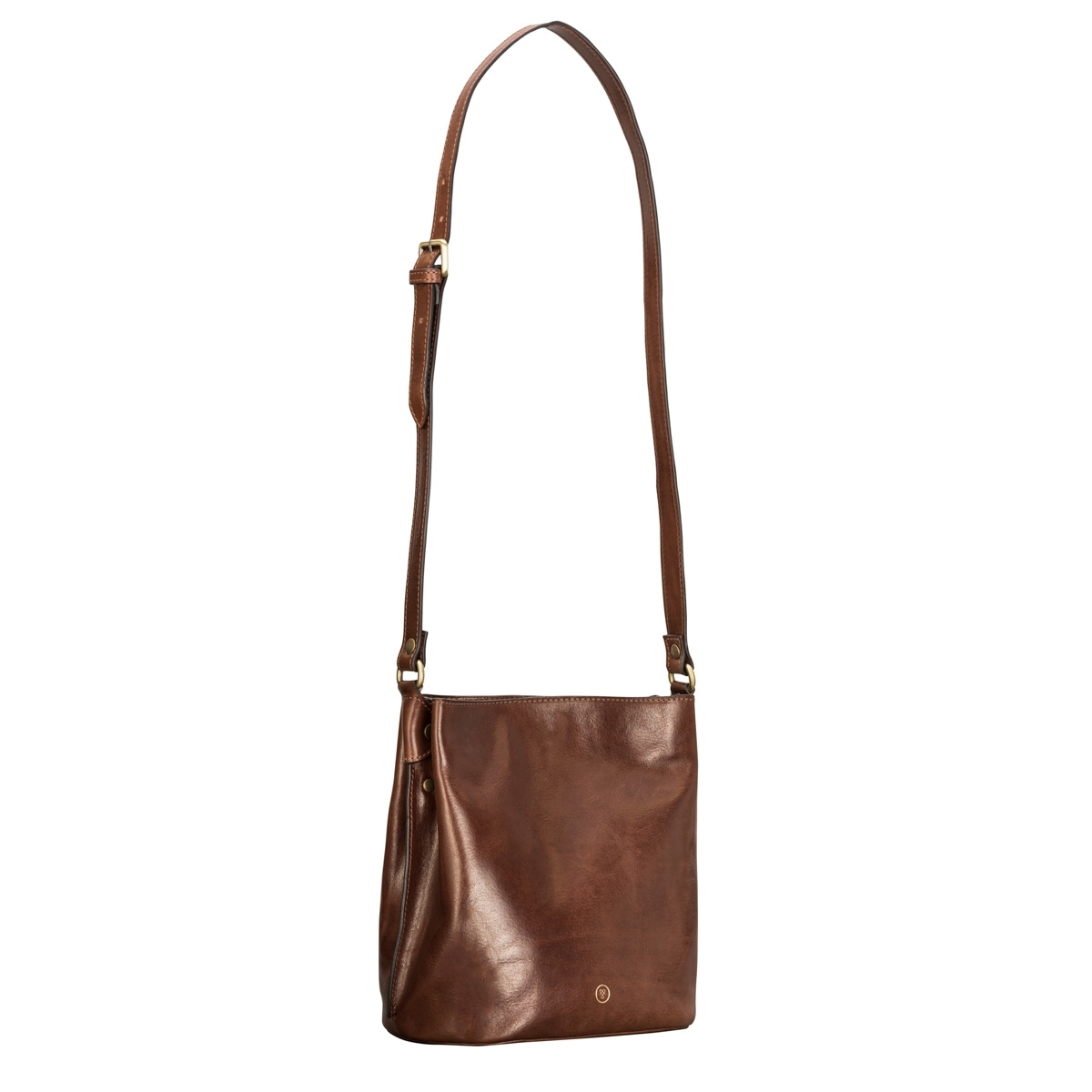 MAXWELL SCOTT BAGS Women S Finely Crafted Tan Leather Bucket Bag
