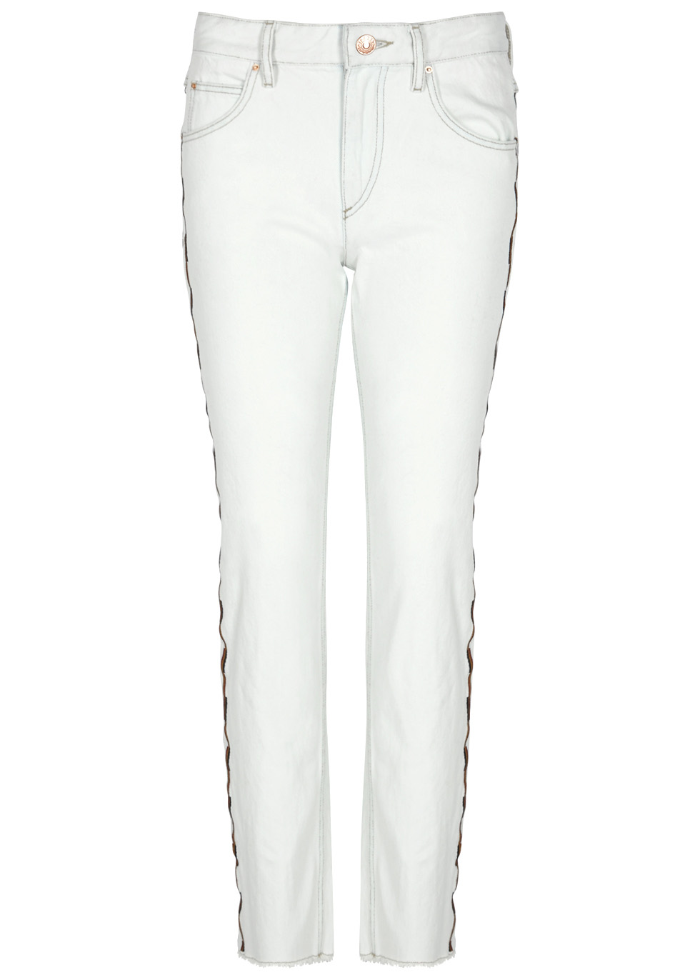 Original Cheap Online Colan embroidered jeans Isabel Marant Cheap Sale Shop Offer Cheap Sale Brand New Unisex Outlet Visit New PkpyyyA