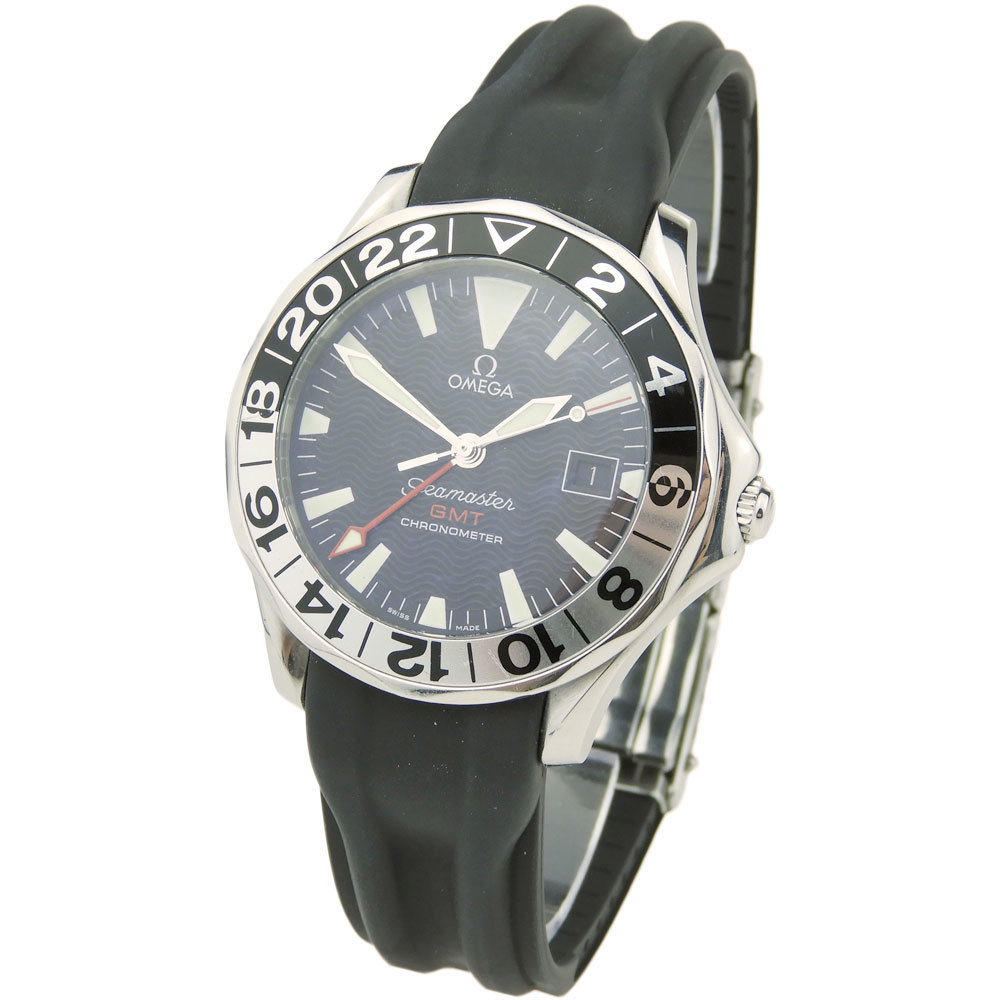OMEGA Seamaster Gmt 50Th Anniversary 2534.50.91