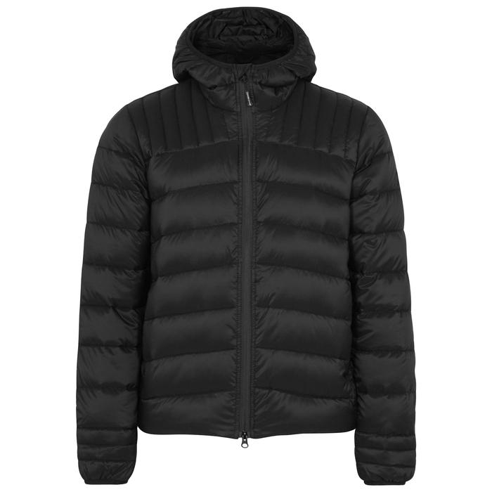 Canada Goose Brookvale Black Quilted Nylon Jacket