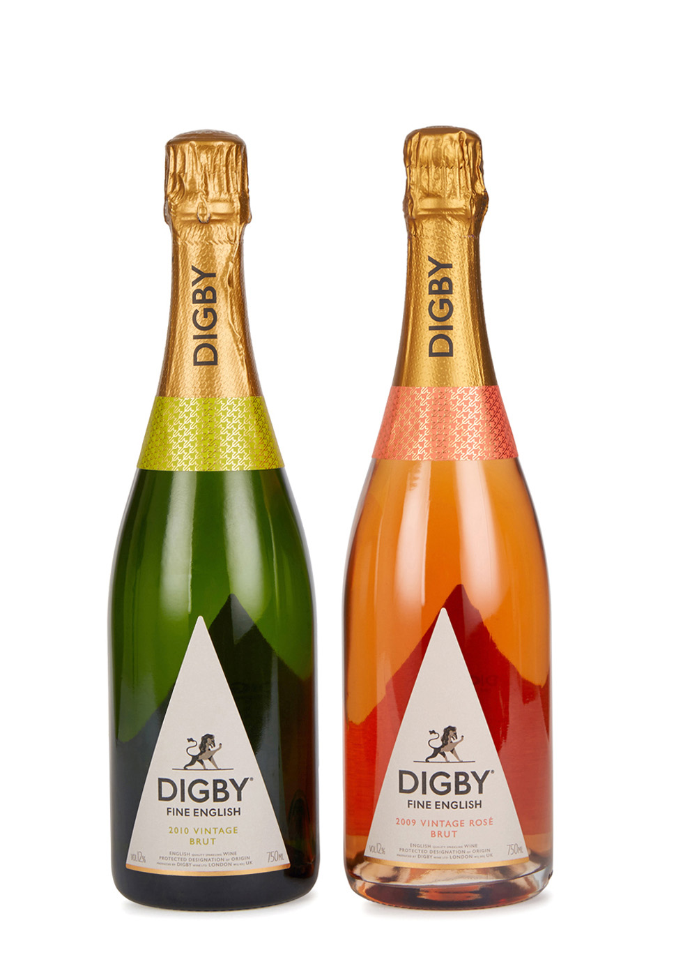 English Vintage Sparkling Wine Duo - Digby