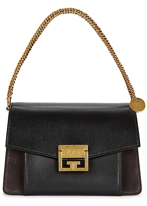 96739e69bfaae Givenchy GV3 small leather shoulder bag - Harvey Nichols