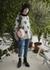 Jacquard cashmere jumper grey - Jamie Wei Huang