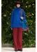 Cashmere turtle neck jumper blue - Jamie Wei Huang