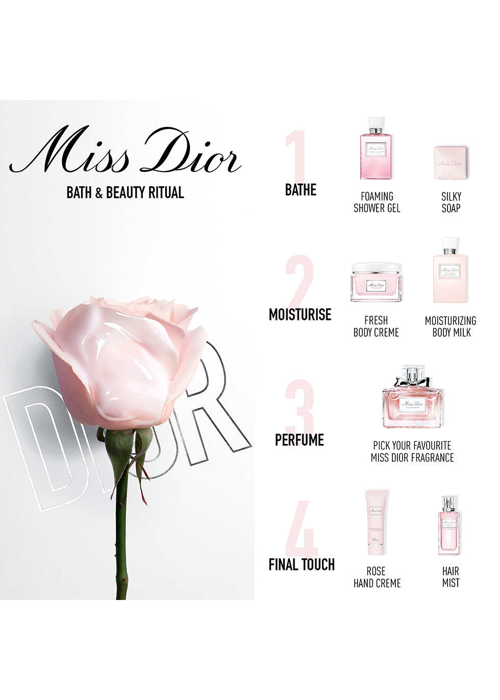 Miss Dior Absolutely Blooming Roller-Pearl Eau de Parfum 20ml - Dior