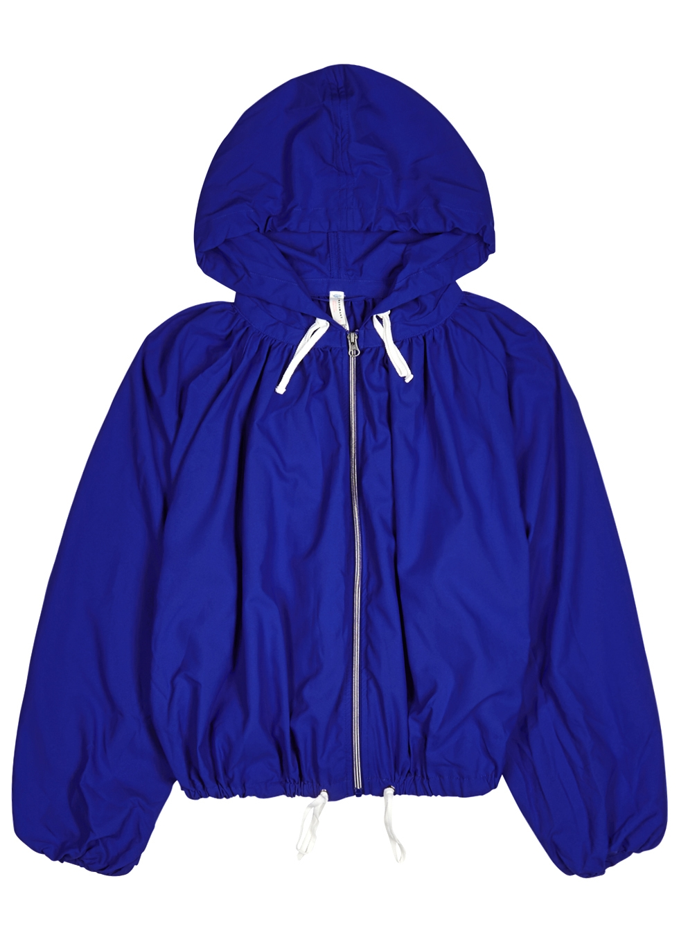 FREE PEOPLE MOVEMENT BREEZE COBALT RECYCLED-SHELL JACKET