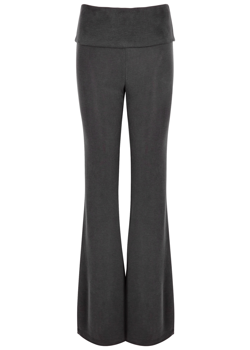 FREE PEOPLE MOVEMENT DIVISION FLARED JERSEY JOGGING TROUSERS