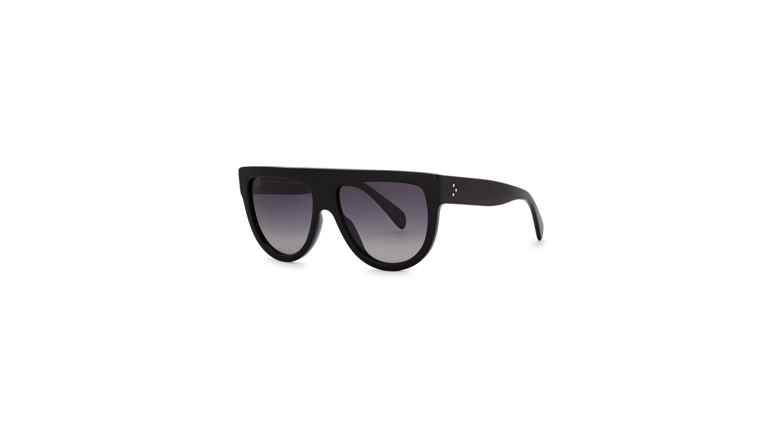 e0675940bad6 Celine Black D-frame sunglasses - Harvey Nichols