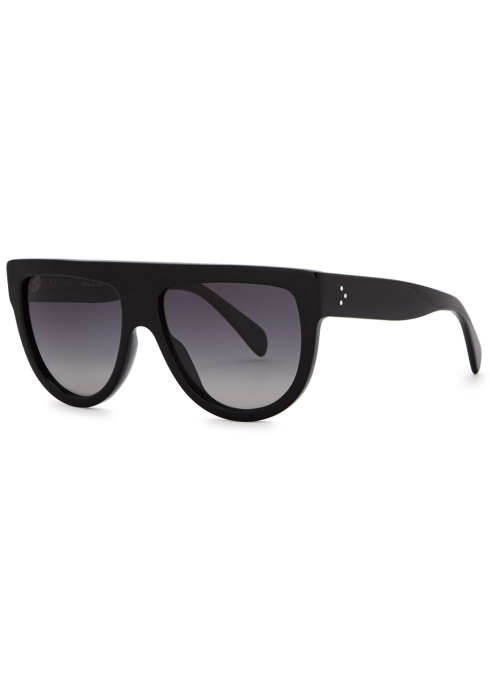 8b717efbd7 Celine Black D-frame sunglasses - Harvey Nichols