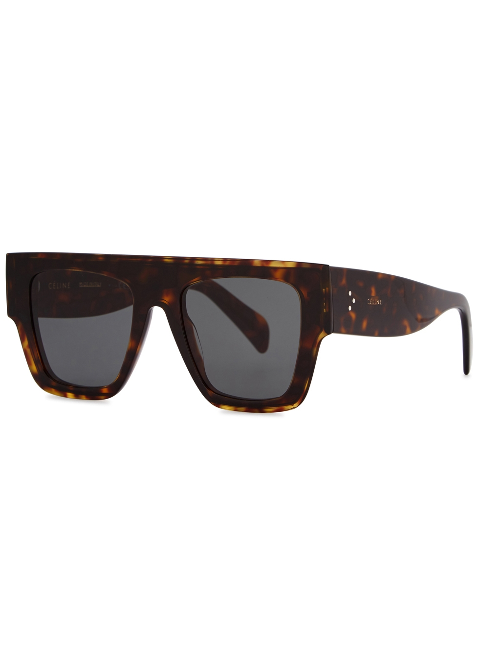 cf8590276353 Celine Tortoiseshell D-frame sunglasses - Harvey Nichols