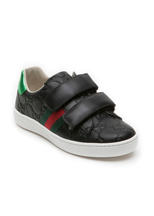 bcb71a0455919a Gucci. Two strap sandal black 27 33. £148.00 · Gg leather trainer ...