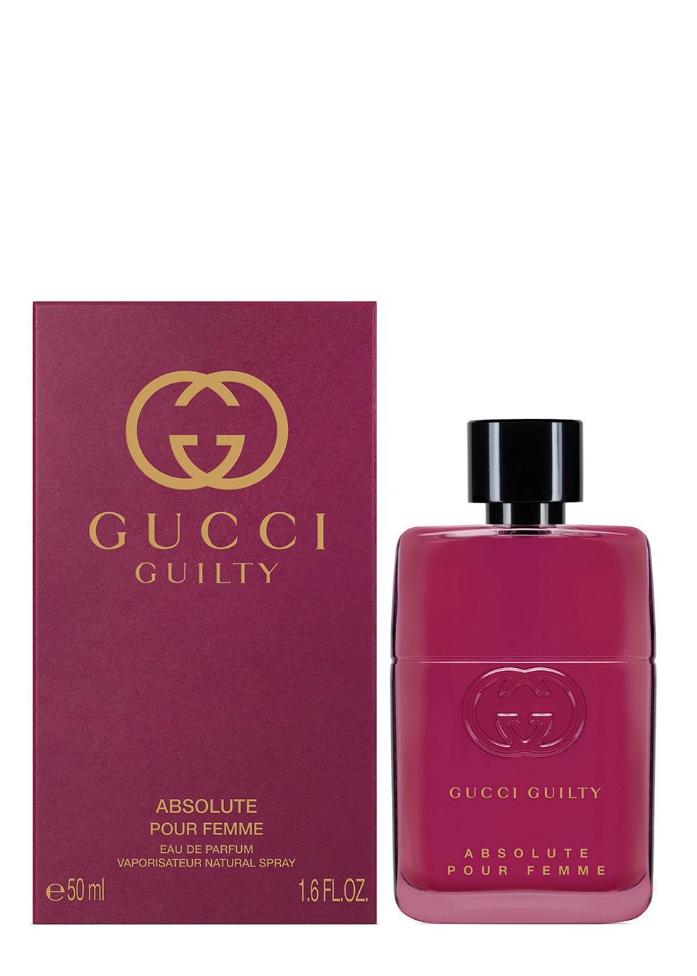 Gucci Guilty Absolute Pour Femme Eau De Parfum 50ml Harvey Nichols