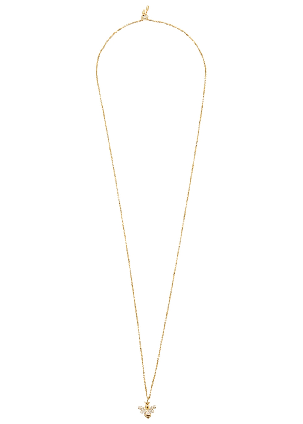 REXY BEE GOLD TONE NECKLACE