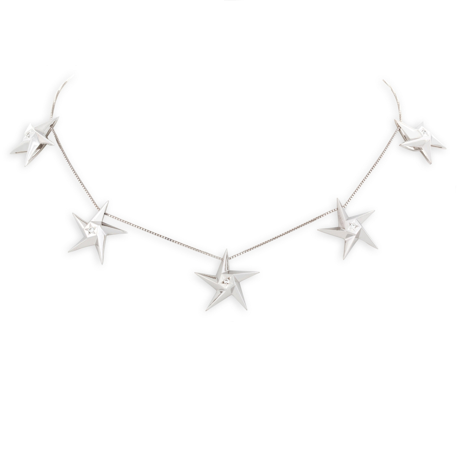 DAOU JEWELLERY 5 STAR NECKLACE