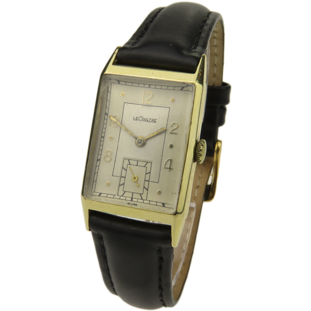 JAEGER LE COULTRE LECOULTRE 9CT VINTAGE MECHANICAL