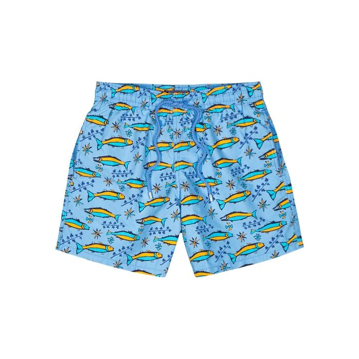 Vilebrequin Sardine À L'Huile Printed Swim Shorts