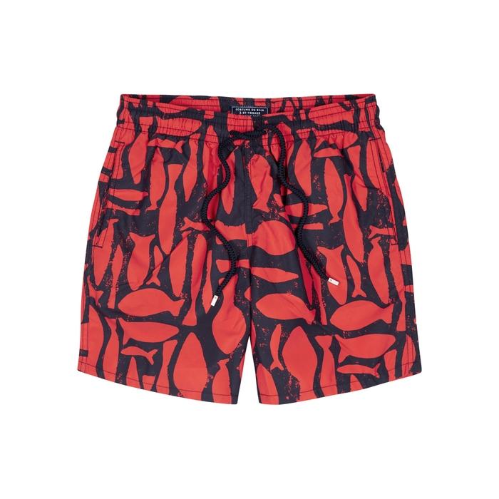 Vilebrequin Silex Fishes Printed Swim Shorts