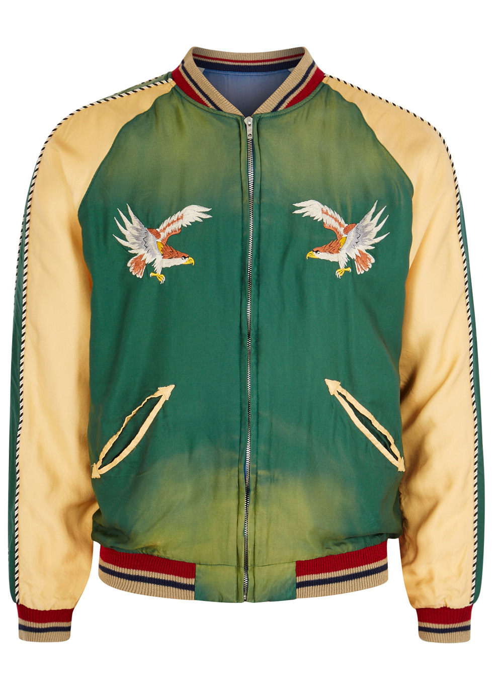 TAILOR TOYO EMBROIDERED REVERSIBLE SOUVENIR JACKET