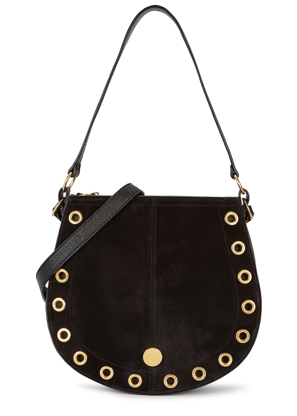 SEE BY CHLOÉ KRISS LARGE LEATHER HOBO BAG