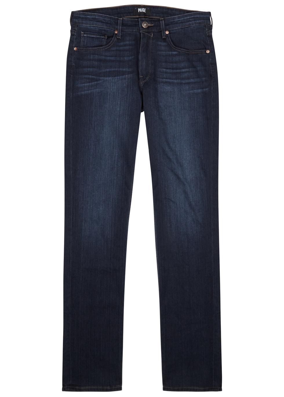 Lennox indigo slim-leg jeans