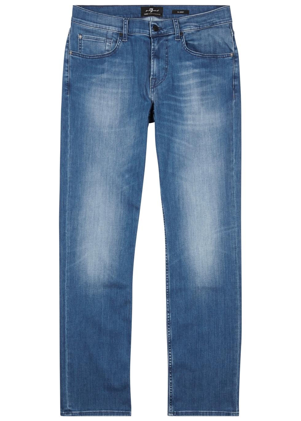 Slimmy Luxe Performance slim-leg jeans