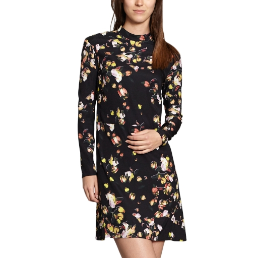 Cacharel PRINTED AURORA FLORAL DRESS