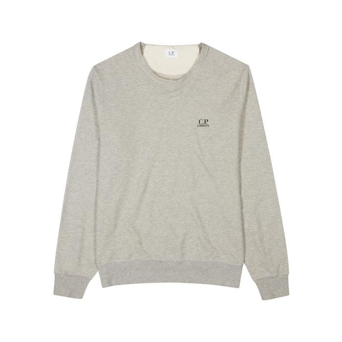C.P. Company Grey Cotton Sweatshirt