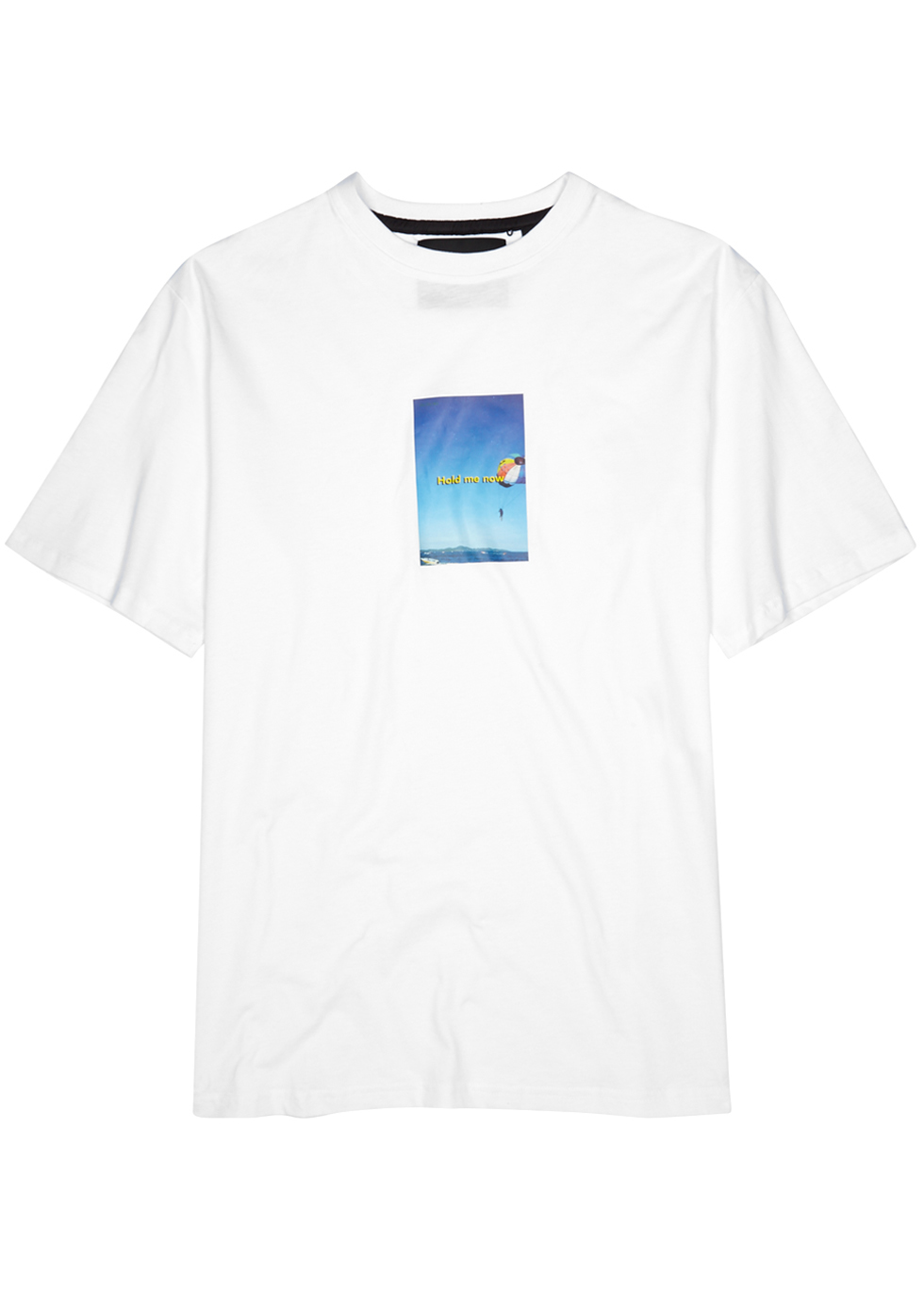 BLOOD BROTHER PAPER WHITE COTTON T-SHIRT
