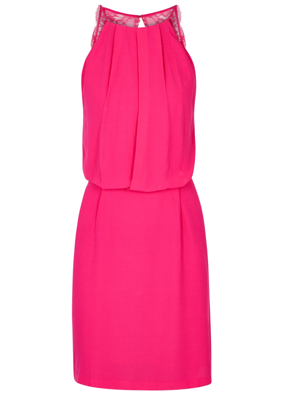 SAMS0E & SAMS0E Willow Fuchsia Open-Back Dress in Pink