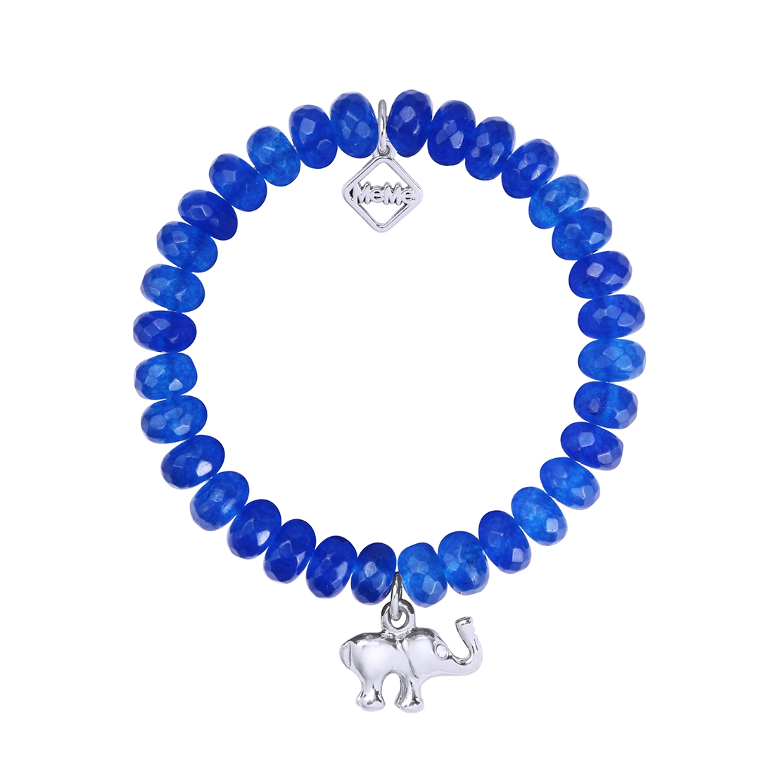MEME LONDON GOOD LUCK TRUNK - DEEP BLUE WITH WHITE GOLD
