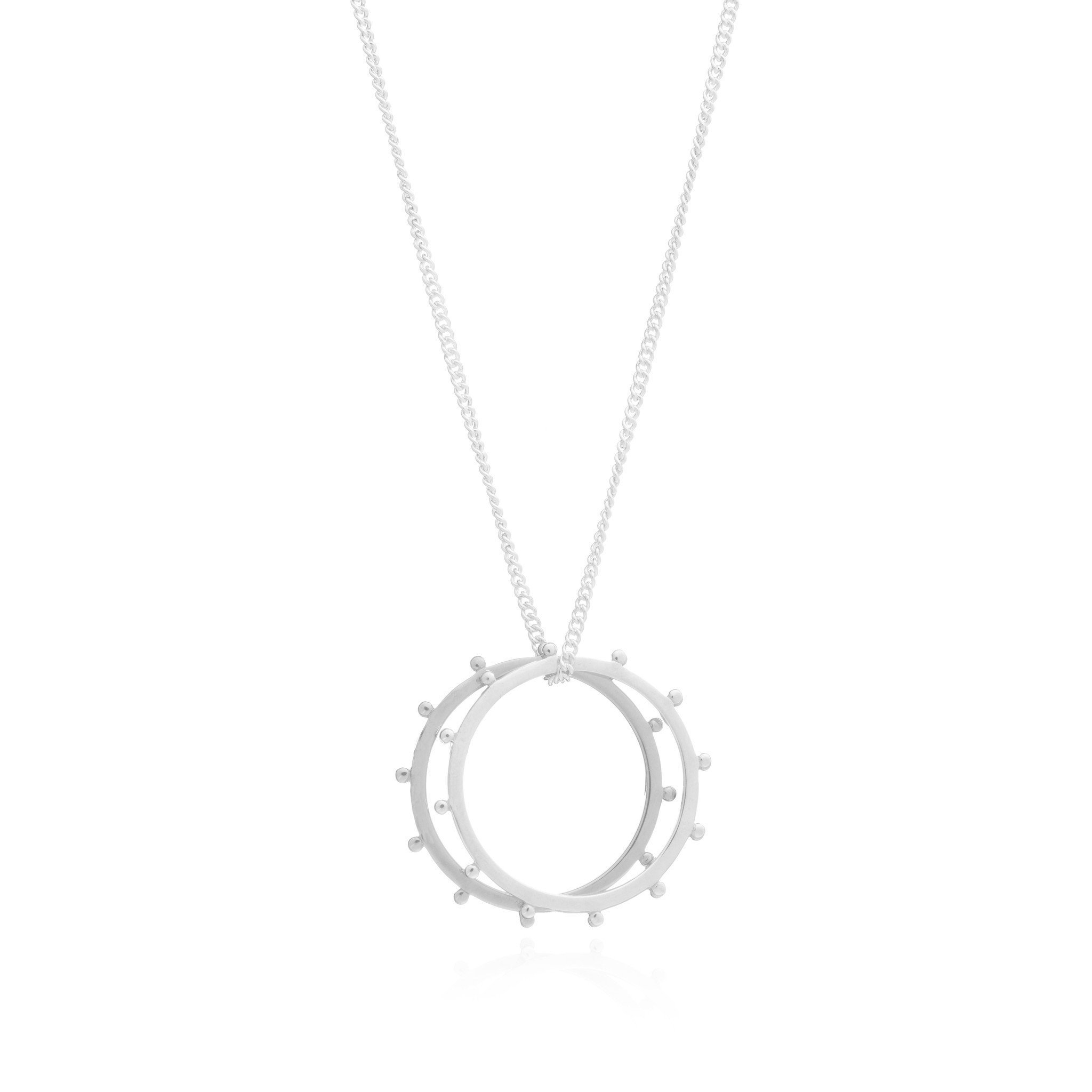 PUNK RING NECKLACE