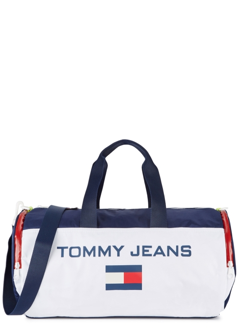 Tommy Jeans Logo-print colour-block shell holdall - Harvey Nichols 7cecbb3656