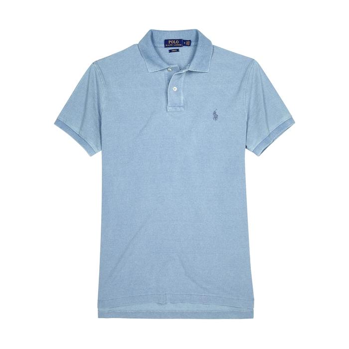 Polo Ralph Lauren Slim Piqué Cotton Polo Shirt thumbnail