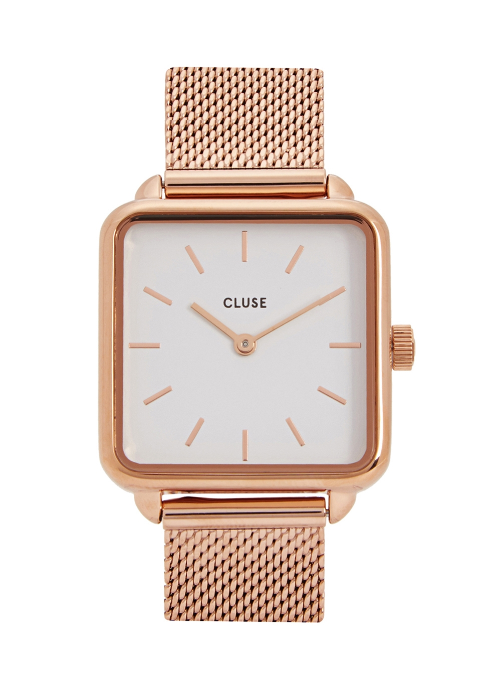 CLUSE LA GARCONNE ROSE GOLD-TONE WATCH