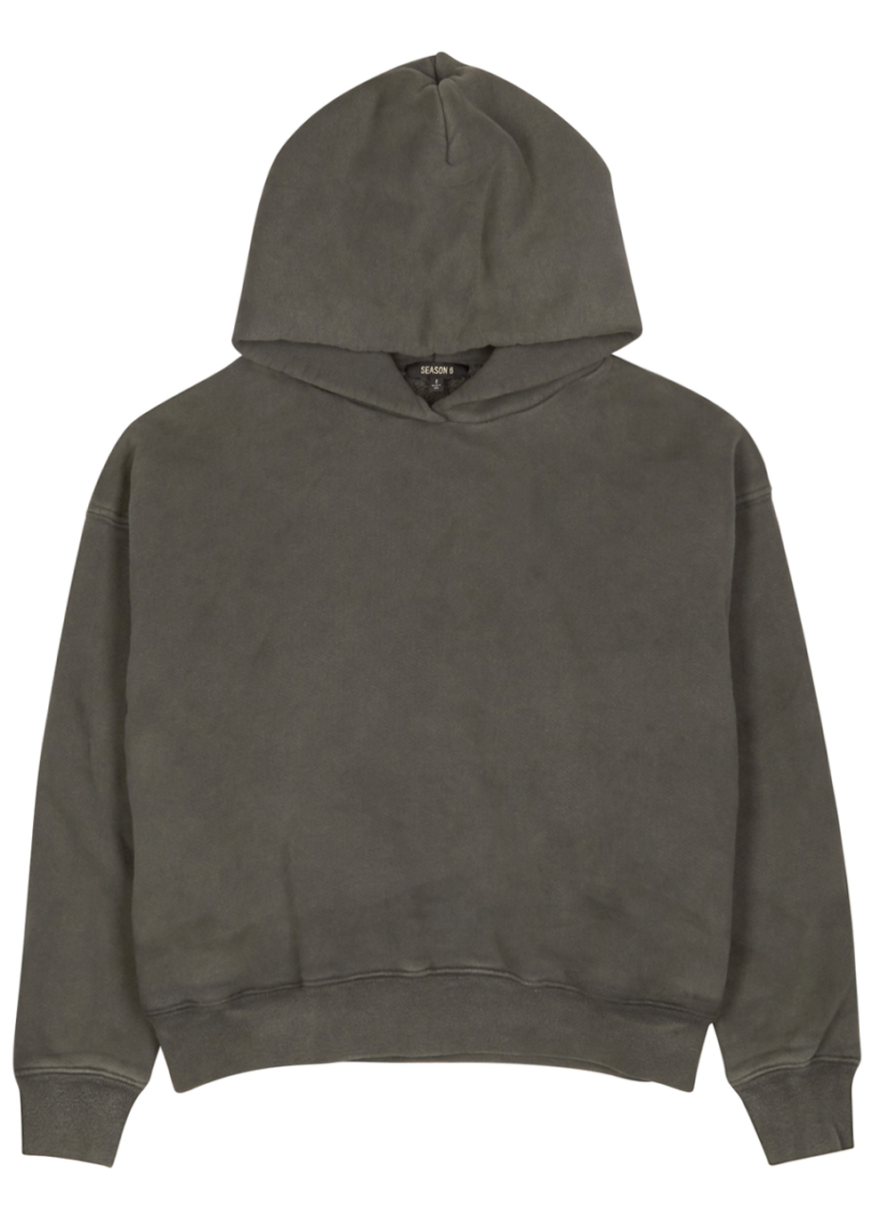 STORM GREY COTTON SWEATSHIRT