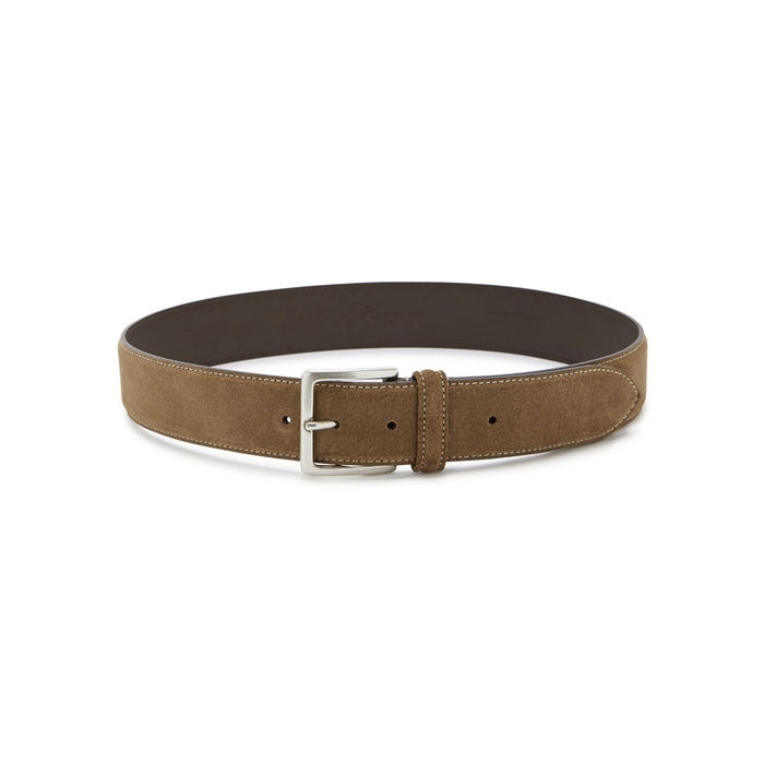 Anderson's Light Brown Suede Belt