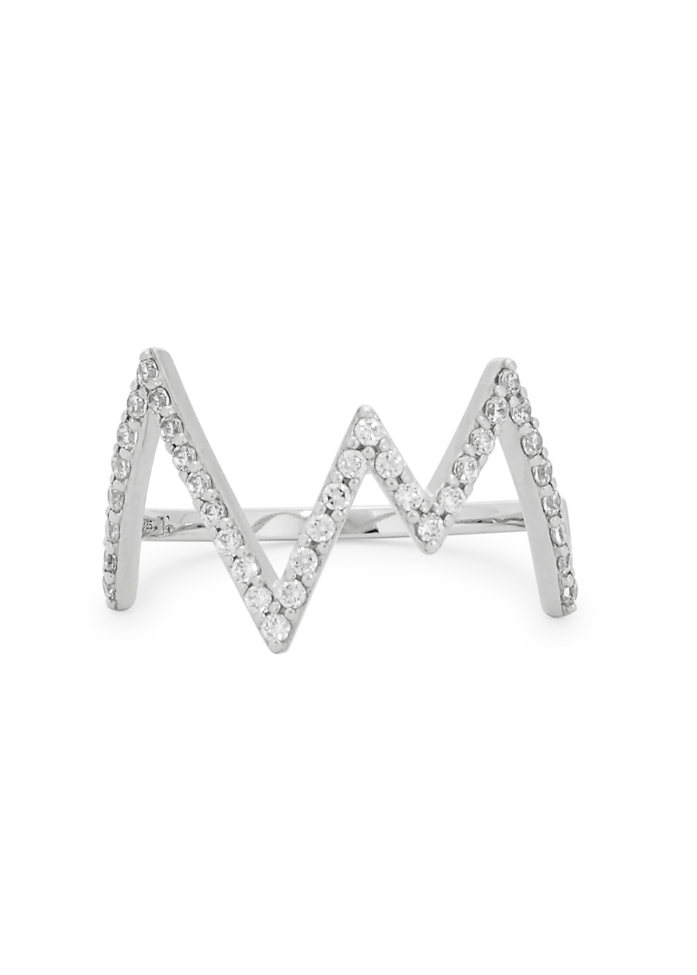 ROSIE FORTESCUE HEARTBEAT STERLING SILVER SRING