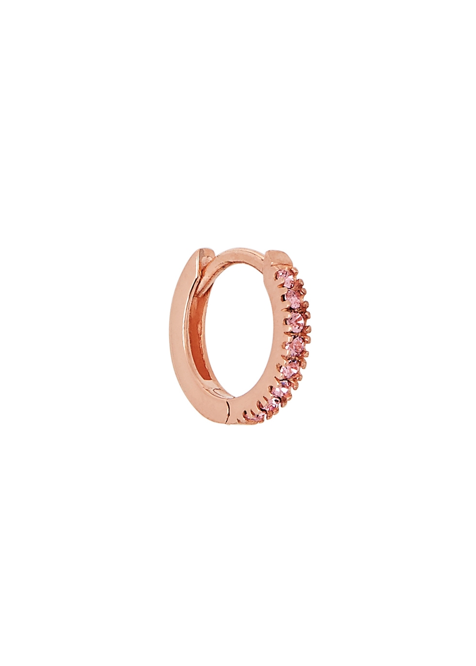 ROSIE FORTESCUE 18Ct Rose Gold-Plated Hoop Earring