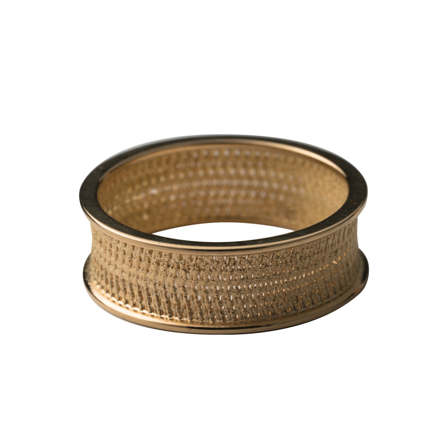 MOZAFARIAN GOLD STACK RING